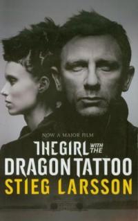 Girl with the Dragon Tattoo - okładka książki