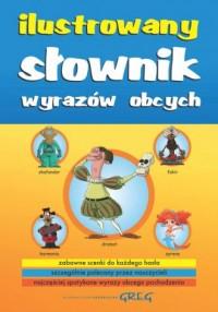 Ilustrowany słownik wyrazów obcych - okładka książki