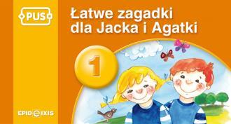 Łatwe zagadki Jacka i Agatki - okładka podręcznika
