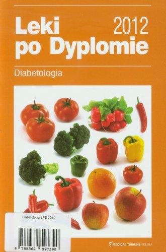 Leki po Dyplomie 2012. Diabetologia - okładka książki