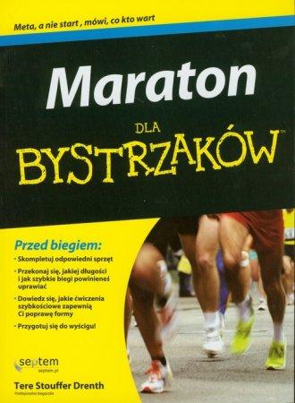 Maraton dla bystrzaków - okładka książki