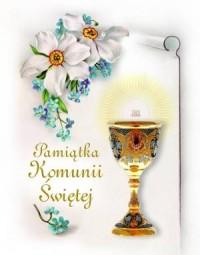 Pamiątka Komunii Świętej - Joanna Gaca - okładka książki