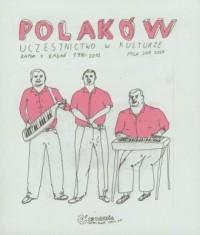 Polaków uczestnictwo w kulturze - okładka książki