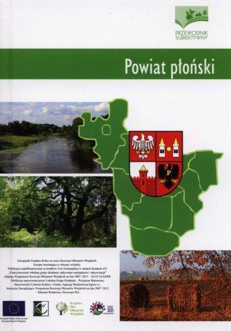 Powiat płoński. Przewodnik subiektywny - okładka książki