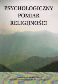 Psychologiczny pomiar religijności. - okładka książki