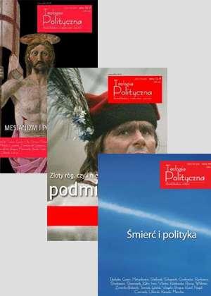 Teologia Polityczna nr 4,5,6. PAKIET - okładka książki