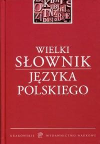 Wielki słownik języka polskiego - okładka książki