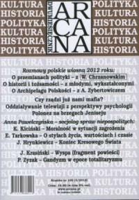Arcana nr 105 (3)/2012 - okładka książki