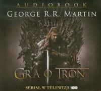 Gra o tron (CD) - George R.R. Martin - pudełko audiobooku