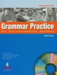 Grammar practice for Pre-Intermediate students (+ CD) - okładka podręcznika