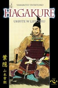 Hagakure ukryte w listowiu - okładka książki