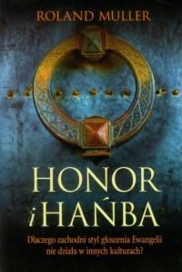 Honor i hańba - okładka książki