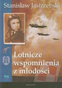 Lotnicze wspomnienia z młodości - okładka książki