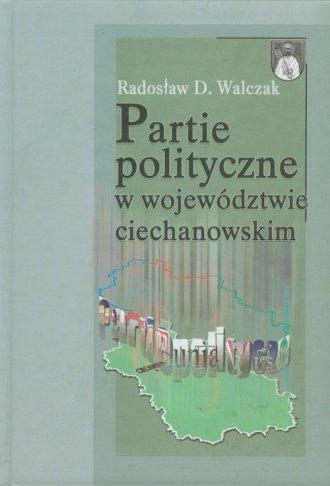 Partie polityczne w województwie - okładka książki