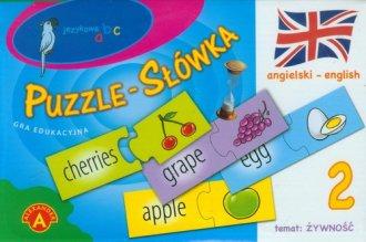 Puzzle-Słówka. Angielski-English - zdjęcie zabawki, gry