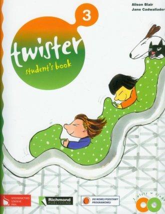 Twister 3. Students book (+ 2 CD) - okładka podręcznika