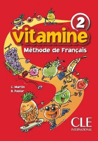 Vitamine 2. Podręcznik - okładka podręcznika