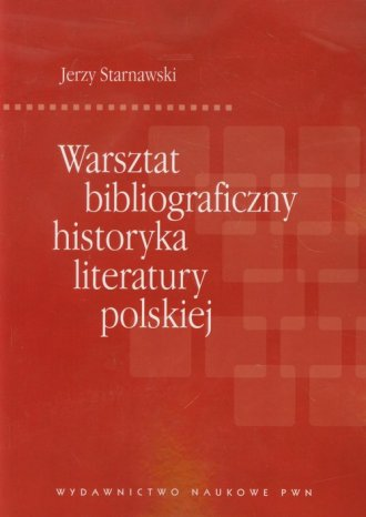 Warsztat bibliograficzny historyka - okładka książki
