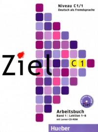 Ziel C1/1 (Kursbuch + Arbeitsbuch mit Lerner-CD-ROM). KOMPLET - okładka podręcznika