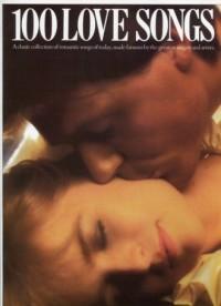 100 Love Songs - okładka książki