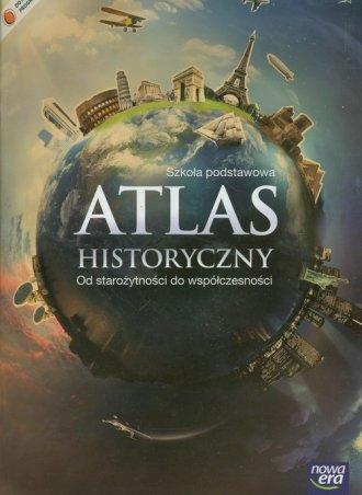 Atlas historyczny. Szkoła podstawowa. - okładka podręcznika
