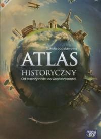 Atlas historyczny. Szkoła podstawowa. - okładka książki