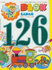 Blok 126 zadań - okładka książki