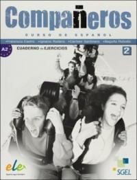Companeros 2. Ćwiczenia - okładka podręcznika
