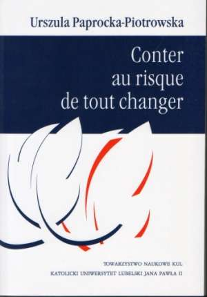 Conter au risque de tout changer - okładka książki