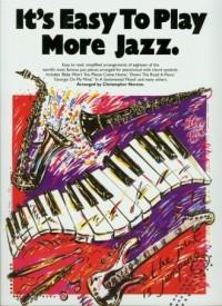 It s Easy To Play More Jazz - okładka książki