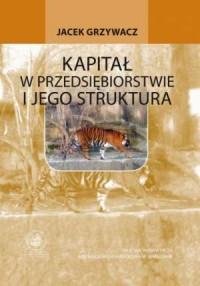 Kapitał w przedsiębiorstwie i jego struktura - okładka książki