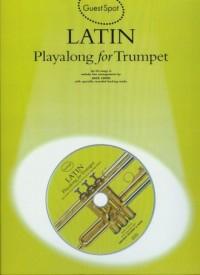 Latin playalong for trumpet (+ CD) - okładka książki