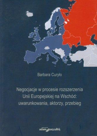 Negocjacje w procesie rozszerzenia - okładka książki