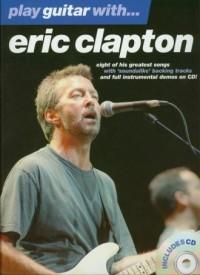 Play guitar with Eric Clapton (+ CD) - okładka książki
