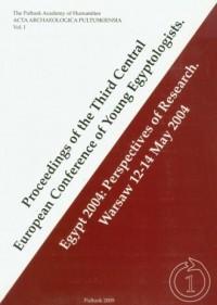 Proceedings of the Third Central European Conference of Young Egyptologists - okładka książki