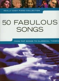 Really Easy Piano Collection. 50 fabulous songs - okładka książki