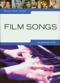 Really Easy Piano Film Songs - okładka książki