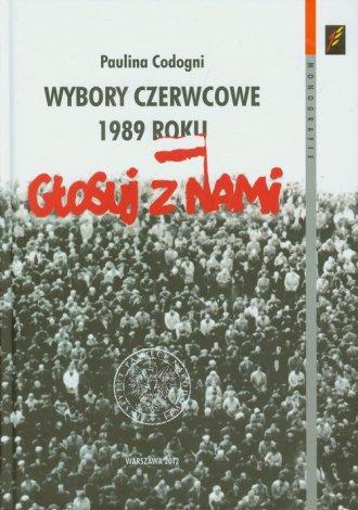 Wybory czerwcowe 1989 roku. U progu - okładka książki