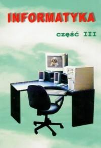 Zajęcia komputerowe. Klasa 4-6. Szkoła podstawowa. Podręcznik z ćwiczeniami cz. 3 - okładka podręcznika