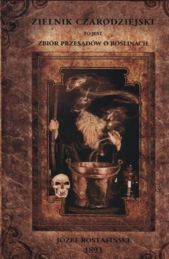 Zielnik czarodziejski - zdjęcie reprintu, mapy