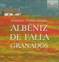 Albeniz Granados De Falla: Spanish piano music (6 CD) - okładka płyty