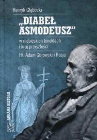 Diabeł Asmodeusz w niebieskich - okładka książki