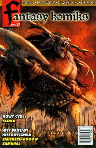 Fantasy komiks. Tom 17 - okładka książki