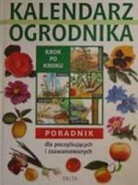 Kalendarz ogrodnika - okładka książki
