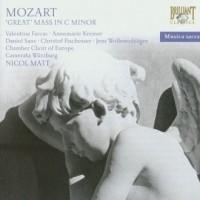 Mozart: Great Mass in C minor (CD) - okładka płyty