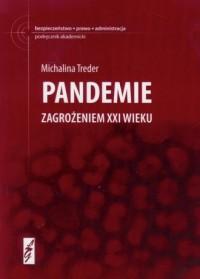 Pandemie zagrożeniem XXI wieku - okładka książki