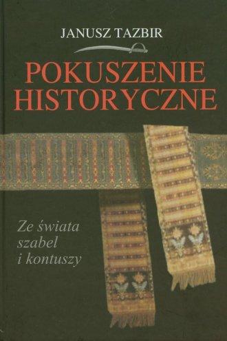 Pokuszenie historyczne - okładka książki