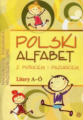 Polski alfabet z piórkiem i pazurkiem. - okładka podręcznika