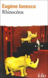 Rhinoceros - okładka książki