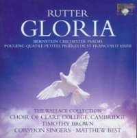 Rutter: Gloria & Bernstein: Chichester Psalms (CD) - okładka płyty